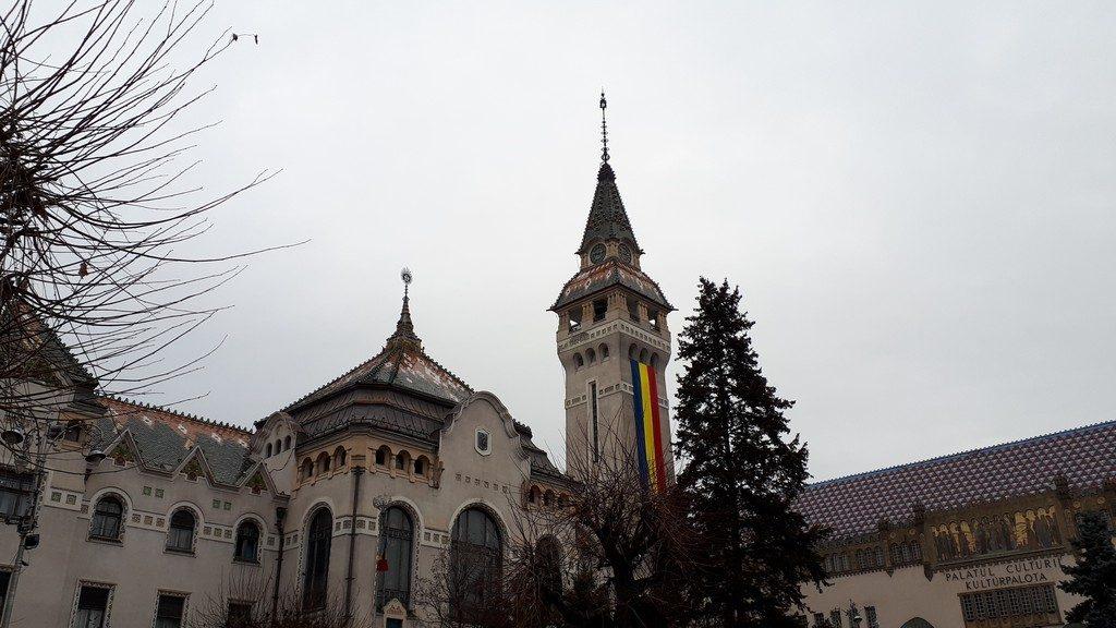 Palatul Culturii Targu Mures, Romania, obiective turistice, arhitectura Transilvania