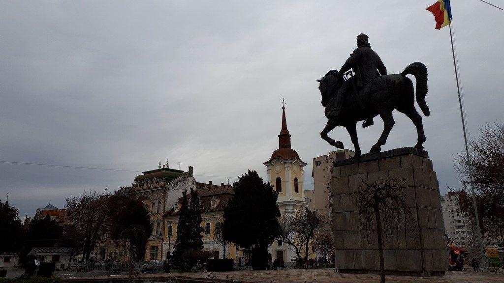statuia lui Avram Iancu Targu Mures, Romania, obiective turistice, arhitectura Transilvania (