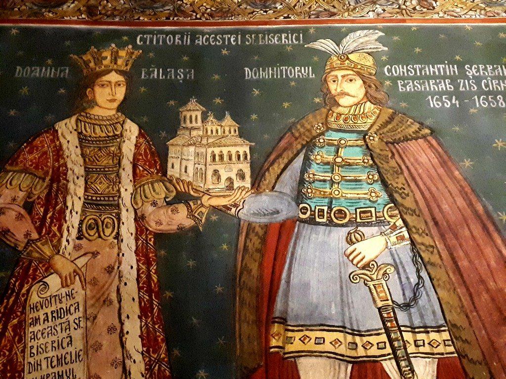 Biserica domneasca Sfantul Gheorghe, obiective turistice Pitesti, Arges, Romania