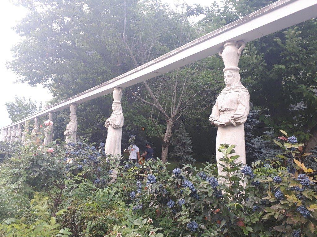 Cariatidele, Baraschi