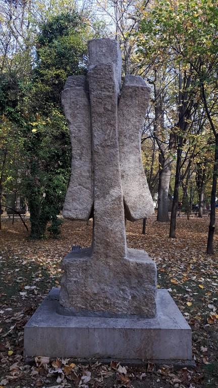 statui parcul Kiseleff, Bolborea, Monumentul Infanteriei, Ovidiu, George Apostu