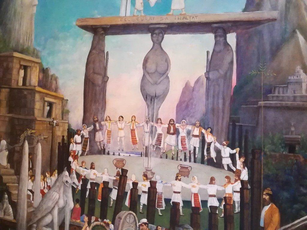 Casa Avramide, muzeu Tulcea, obiective turistice Romania, arhitectura, arta, pictura Eugeniu Barau