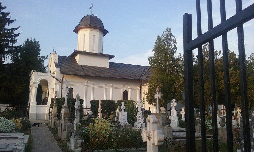 Mihailesti, biserica, Arsenie Boca
