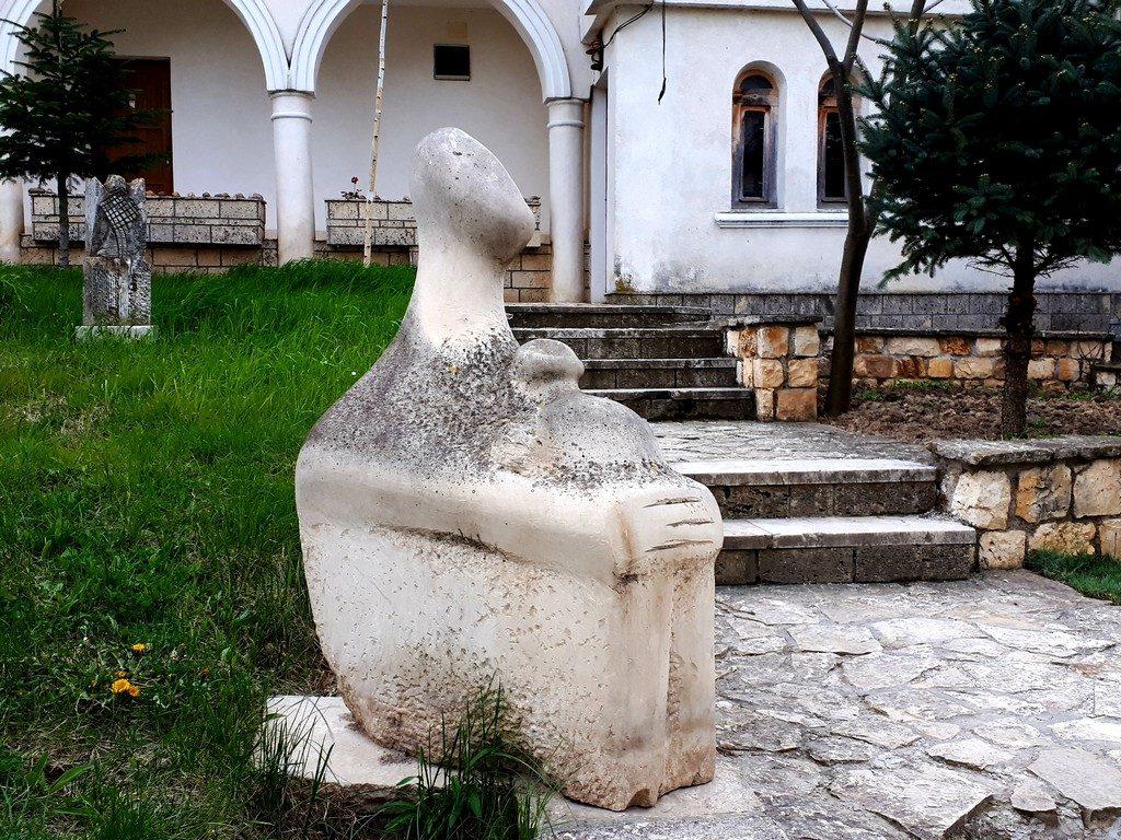 Manastirea Dervent, obiective turistice Dobrogea, Constanta, Romania, arhitectura dobrogeana