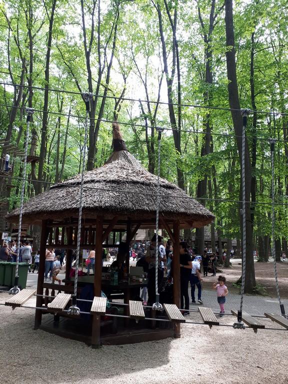 Edenland Balotesti, obiective turistice in jurul Bucurestiului, Romania, tiroliana, tir cu arcul, paintball, calarie, restaurante, echitatie, airsoft aventura parc, zoo catarare