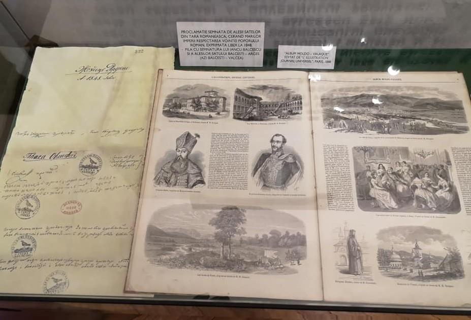 Muzeul Memorial Balcescu, Conacul Balcestilor, Romania, Valcea, obiective turistice