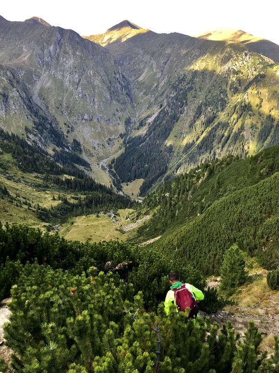 arful Moldoveanu, Valea Rea, Muntii Fagaras, Romania, obiective turisticee, traseu montan, stana lui Burnei