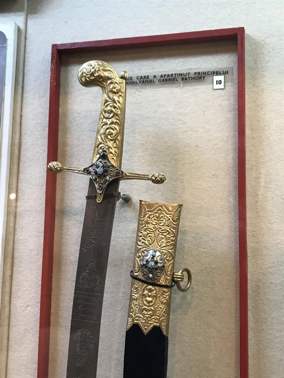 sabia lui Gheorghe Rackoczi al Doilea, obiective turistice Bucuresti, Romania, Muzeul Militar Regele Ferdinand