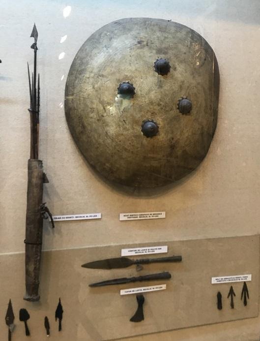 scut din carapace de broasca testoasa, obiective turistice Bucuresti, Romania, Muzeul Militar Regele Ferdinand