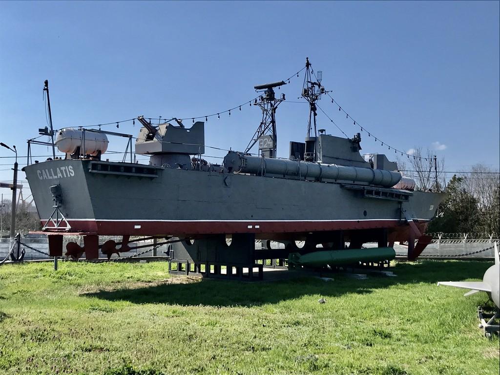 Muzeul Marinei Mangalia, obiective turistice Constanta, torpile, submarinul Delfinul,