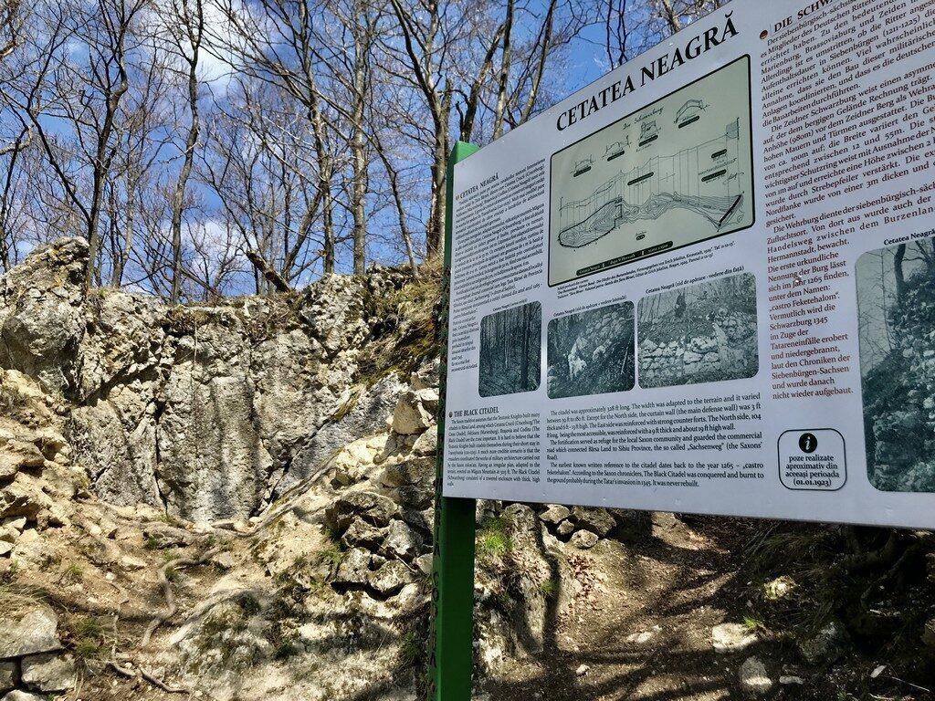 drumetie Cetatea Neagra, Magura Codlei, traseu, obiectiv turistice Brasov, Romania
