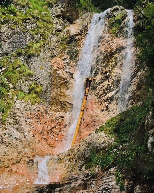 Cascada Moara Dracului, Simon, Muntii Bucegi, trasee cu copiii, obiective turistice Brasov, Romania