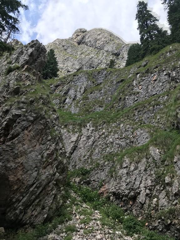Cascada Moara Dracului, Simon, obiective turistice Brasov, traseu, drumetie din Bran , Moieciu